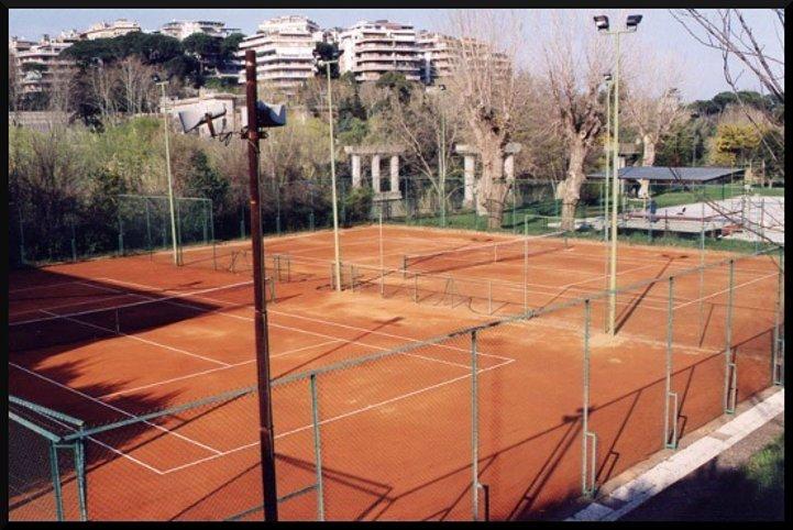 terra rossa per campi da tennis